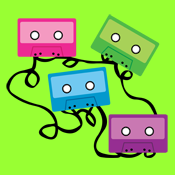 Colorful Cassette Tapes