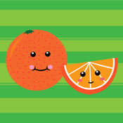 Kawaii Orange Slice